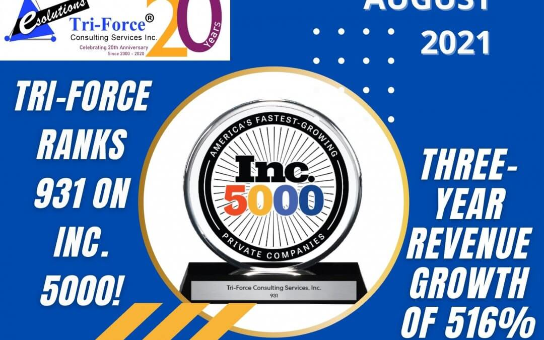 3X Inc. 5000 Winner